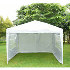 New Waterproof 2.5 x 2.5m Pop Up Gazebo Marquee Garden Awning Party Tent Canopy