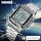 SKMEI Watch Luxury Sport Mens Watches Waterproof LED Digital Military Wristwatch image