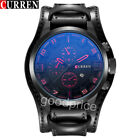 Curren Watch Army Quartz Watches PU Leather Man's Casual Sports Wristwatches  image