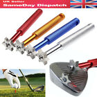 6 Blade Golf Iron Wedge Club Face Groove Tool Sharpener Cleaner for V U Square