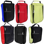 Breathable Golf Shoes Bag with Net Sides Zipped Sports Shoe Case Organizer