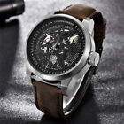 PAGANI DESIGN Steampunk Automatic Watch Men Mechanical Wrist Watch Sport image
