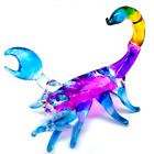 scorpion #3 hand blown clear glass miniature figurine crystal dollhouse animal