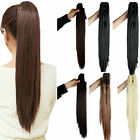 16-26 inch Claw Jaw Clip In Human Hair Ponytail 100% Human Remy Hair Extension