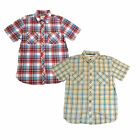Levis Mens Shirt Short Sleeve Buttondown Lightweight Collared Pocket Top Small