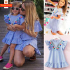 Summer Toddler Baby Girls Party Dress Tassel Sundress Clothes Age 2-7 Years UK