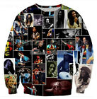 Bob Marley 3D Reggae Star Printed Men's/Women's Sweatshirt Hoodies Pullovers
