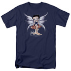 Betty Boop Mushroom Fairy Short Sleeve T-Shirt Licensed Graphic SM-5X $25.83 USD on eBay
