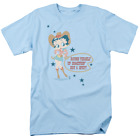 Betty Boop Hot And Spicy Cowgirl Short Sleeve T-Shirt Licensed Graphic SM-5X $25.83 USD on eBay
