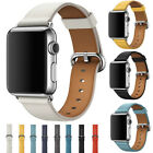 40/44mm Genuine Leather Apple Watch Band Strap for iWatch Series 4 3 2 1 38/42mm image