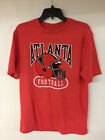 Atlanta Falcons Majestic NFL T-Shirt Throwback Historic Retro Tee Vintage Helmet on eBay