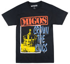 MIGOS CULTURE CROWN THE KING T-SHIRT OFFSET QUAVO TAKEOFF MUSIC TEE MENS BRAVADO