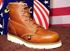 Womens Thorogood Work Boots 514-4200 Wedge Bottom Iron Worker Boots USA Shoes