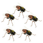 5pcs Mini Insect Bug Animal Figures Toys Joke Trick Gag Toy Fridge Magnet