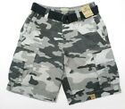 Mens Cargo Shorts Roebuck and Co Twill Canvas Belt Distressed