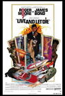 65348 Live and Let Die Movie Roger Moore, Jane Seymour Wall Poster Print UK £25.95 GBP on eBay