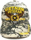 Vietnam Veteran 1961 to 1975 American Bald Eagle Embroidered  Baseball Cap Hat