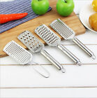 Stainless Steel Cheese Grater Handheld Grater Potato Butter Slicer Kitchen PS