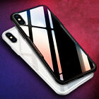 1 x Transparent 9H Tempered Glass Phone Back Case for iPhone X 7/8 7 Plus/8 Plus