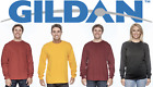Gildan Unisex Cotton Mens Crewneck Long Sleeve T-Shirt S-2XL - 2400 Shirt  image