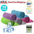 10x wholesale lot ice Cooling Towel for Sports Workout Fitness Gym Yoga Pilates image