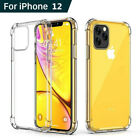 360° Silicone Protective Clear Crystal Thickened Case Cover For Smart Cellphone