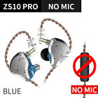 KZ-ZS10Pro In-ear Double Dynamic Unit Stereo Sound Wired Phone Gaming Earphones