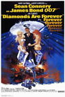 65749 Diamonds Are Forever Movie ean Connery Wall Poster Print Affiche $20.47 CAD on eBay