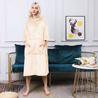 Men's Women's Bathrobe Microfiber Fleece Shawl Collar Flannel Spa Robe Sleepwear
