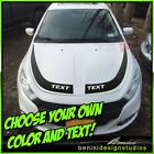 Hood Racing Stripes Blackout Graphics 6 - Fits 2013-2016 Dodge Dart $69.99 USD on eBay