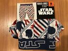 Star Wars Millenium Falcon Red/White/Blue Boxer Briefs Underwear - Men's M,L,XL $8.99 USD on eBay