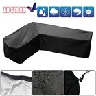 Waterproof Garden Rattan Corner Furniture Cover Outdoor Sofa Protect L Shape