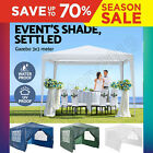Garden Marquee Party Tent Waterproof Outdoor Wedding Awning Canopy Heavy Duty UK