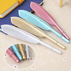 Creative Feather Gel Pen Office School Students Writing Pens Stationery Supply