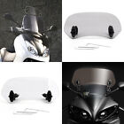 Clip-On Windshield Extension Spoiler Wind Deflector For Most Motorcycle Clear US $29.99 USD on eBay