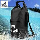 Waterproof Dry Bag FANDA Backpack 20L 30L with Dual Adjustable Straps, Roll Top