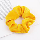 UK Womens Ladies Velvet Hair Scrunchies Elastic Scrunchy Bobbles Hair Ties Band