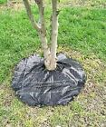 Agfabric Punched Non-Woven Round Weed Barrier Fabric,Garden Mat,Tree Mat,4.0oz