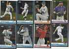 2019 TOPPS CHROME BASEBALL BASE CARDS (1-204)  U-PICK COMPLETE YOUR SET ALONSO on Ebay