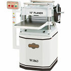 Shop Fox 15in Planer with Helical Cutterhead- 3 HP 230 Volts 12 Amps 1-Phase