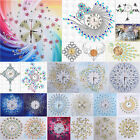 DIY Special Shaped Diamond Painting Wall Clock Craft Cross Stitch Home Decor Art