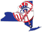 NY New York State Yankees Baseball LOGO Vinyl Sticker Decal Truck Bumper Wall on Ebay