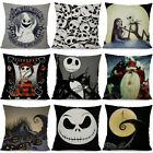 Nightmare Before Christmas pillow case Cushion Cover  Ghost Head Design Waist image