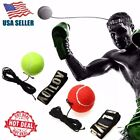 Boxing Training Fight Ball Reflex Speed Reaction Punch Combat Muscle Exercise US $4.99 USD on eBay