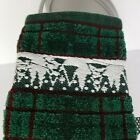 Cecil Saydah Holiday Towel Lot Body Hand Finger Towels Green Red Pine Tree Xmas