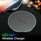 Qi Wireless Charger 10W Fast Charging Docks Mat Pad for iPhoneXS Samsung Note 10
