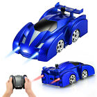 Wall Climbing Remote Control Car, RC Car Toy for Kids Rotating Stunt Car
