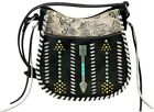 Montana West Aztec Collection Crossbody/ Purse With wallet set image