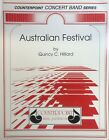 AUSTRALIAN FESTIVAL for medium easy concert band, score and parts. Retail $45.00