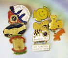 Vintage LIONS CLUB Pin Brooch Ohio District 13 C collectible retro old GALEP